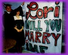 Dave Proposes to Lori
